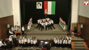 1848 hőseire emlékeztek a nagykaposi diákok