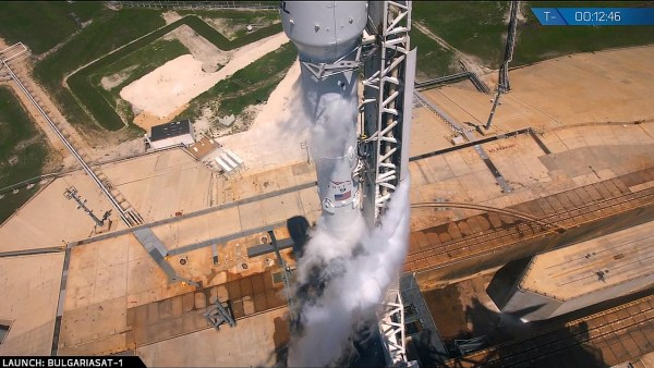 SpaceX is targeting launch of BulgariaSat-1