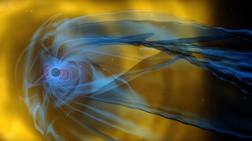NASA Spacecraft Discovers New Magnetic Process in Turbulent Space