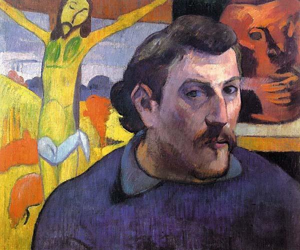 Paul Gauguin - Önarckép 1889