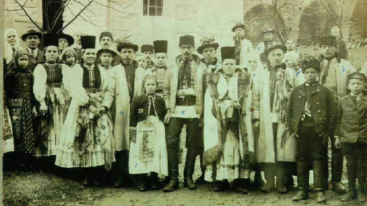 Szász esküvő, 1920