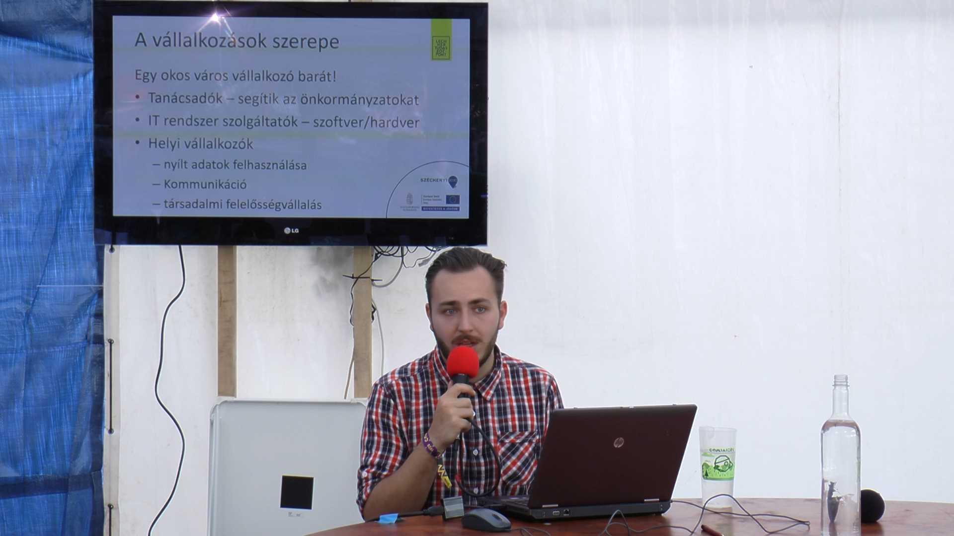 Smart City - Melecsky Levente fejlesztő