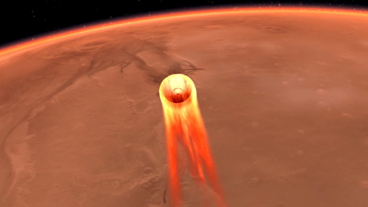 InSight's Entry - Descent and Landing