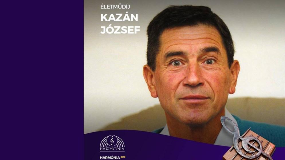 Kazán József életműdíjat kap