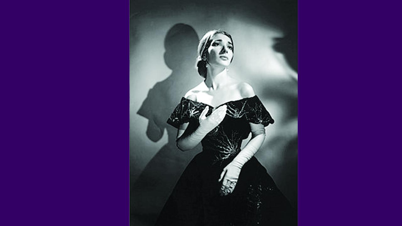 Maria Callas Violetta szerepében