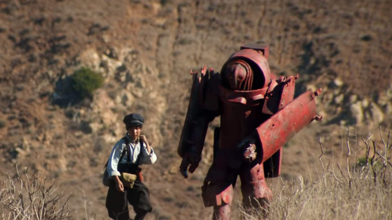 "Sci-Fi Short Film ""A Crimson Man"
