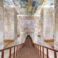 Online bejárható a Királyok völgyének egyik legismertebb sírhelye