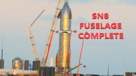 Lassan repülésre kész a Starship SN8