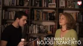Aktuális – Bolemant Lilla nőjogi szakértővel