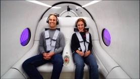 Először tesztelték utasokkal a Hyperloopot