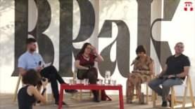 Dragomán György és Szabó T. Anna a BRaK fesztiválon
