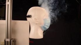 Így állítja meg az arcmaszk a koronavírus terjedését