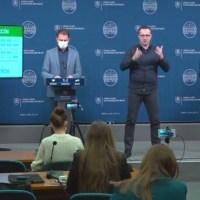 Igor Matovič és Marek Krajčí sajtótájékoztatója a vakcinálásról