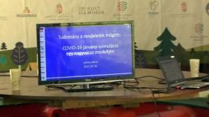 COVID járvány-szimuláció egy nagyváros PhD. Juhász János
