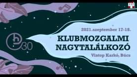 Klubmozgalmi Nagytalálkozó –  Czáboczky Szabolcs könyvbemutatója