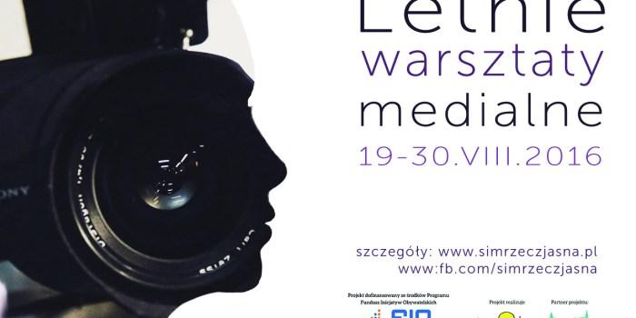 Ostróda RzeczJasnaTV warsztaty zaproszenie