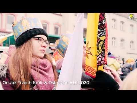 ORSZAK TRZECH KRÓLI - OSTRÓDA 6.01.2020