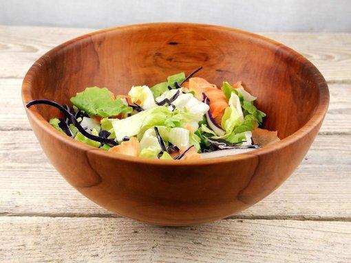 Bol salata din lemn de mar