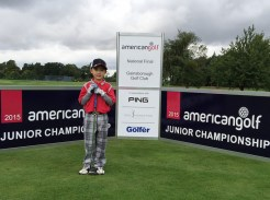 "American Golf Junior Championship ""The Star Of Future!"", Stanley Lin"