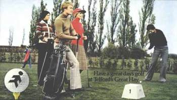 First tee in 1976