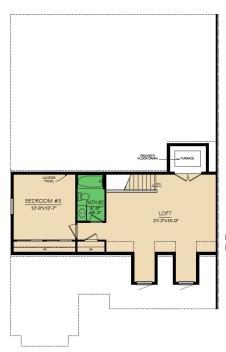 Montgomery 3 Bedroom Floor 2