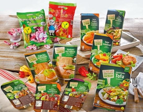 """ALDI SÜD führt V-Label für fleischlose Ernährung ein. Bildquelle: """"obs/Unternehmensgruppe ALDI SÜD"""""""