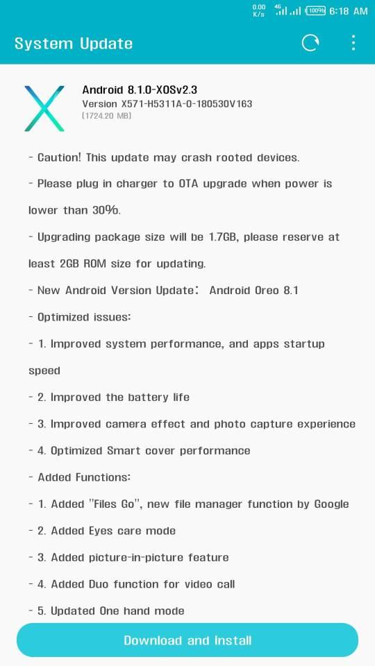 Infinix Note 4 Pro update, Infinix Note 4 pro upgrade, how to upgrade Infinix Note 4 pro