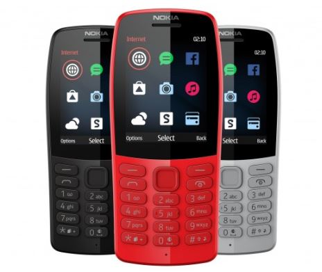 Nokia 210 in colours