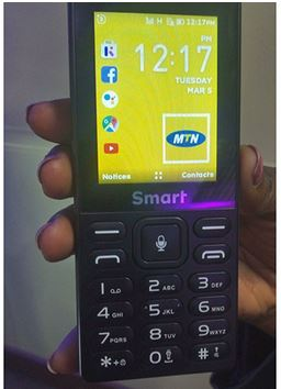 MTN Launches 3G Feature Phone.