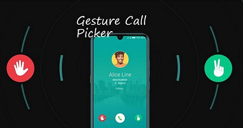 Gesture Call Picker - Cool New Way to respond to calls
