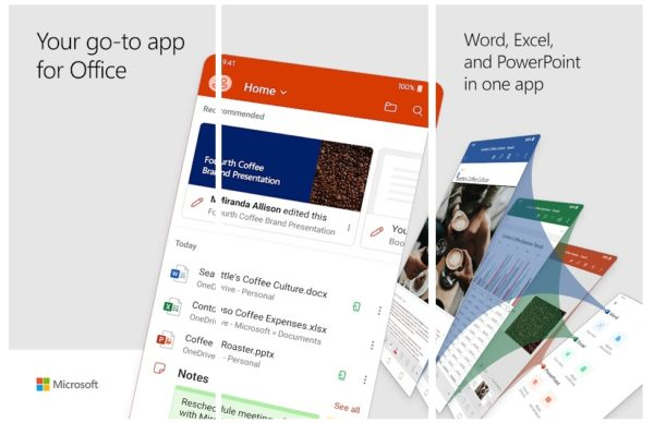 MICROSOFT LAUNCHES A NEW APP ON ANDROID: WORD, EXCEL AND POWERPOINT IN ONE APP