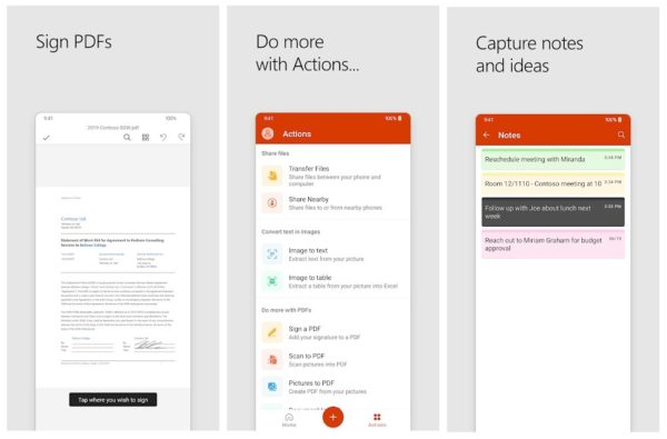 WORD, EXCEL AND POWERPOINT IN ONE APP