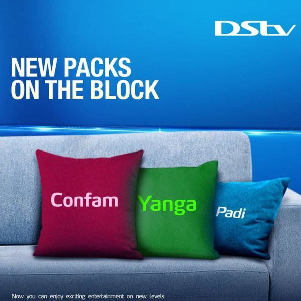 dstv new packages