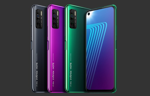 Infinix Note 7 Lite In Colours