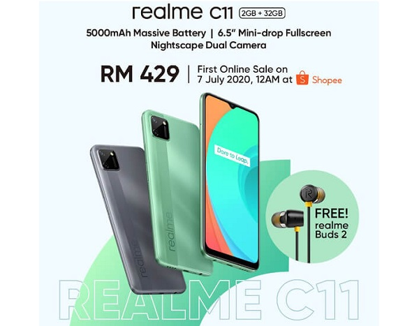 Realme C11 Price and Availability