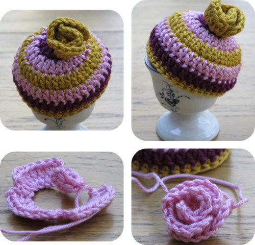 crochet egg cosy pattern