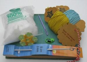crochet a turtle pincushion kit