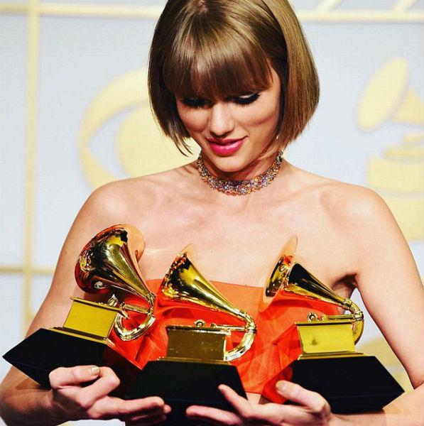 taylor swift grammy awards