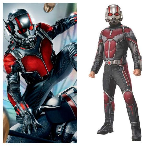 traje do homem-formiga