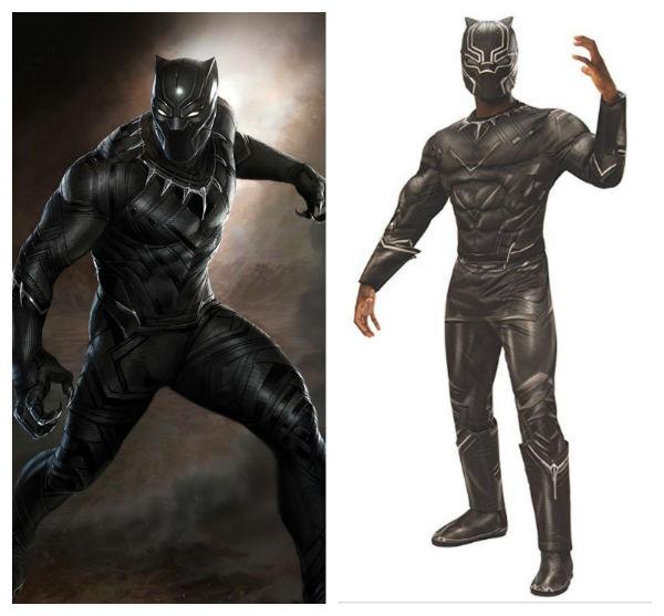 traje pantera negra