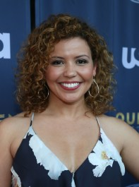 AUSTIN, TX - JUNE 9: Actress Justina Machado at the opening night with USA's 'Queen of the South' at the 2016 ATX Television Festival at the Stephen F. Austin InterContinental Hotel on June 9, 2016, in Austin, Texas. (Photo by Jack Plunkett/Picturegroup)