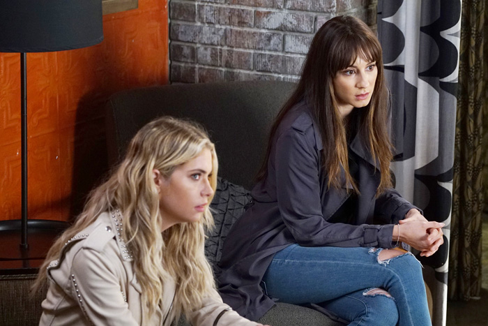 """PRETTY LITTLE LIARS - """"Wanted: Dead or Alive"""" - As the police gain new leads in Rollins' disappearance, the Liars wonder if he really is dead while someone else meets his/her end, in """"Wanted: Dead or Alive,"""" an all-new episode of Freeform's hit original series """"Pretty Little Liars,"""" airing TUESDAY, AUGUST 2 (8:00-9:00 p.m. EDT). (Freeform/Eric McCandless)"""