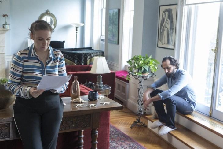Girls Season 6 Episode 3 -- Lena Dunham, Matthew Rhys (photo credit: Craig Blankenhorn/HBO)