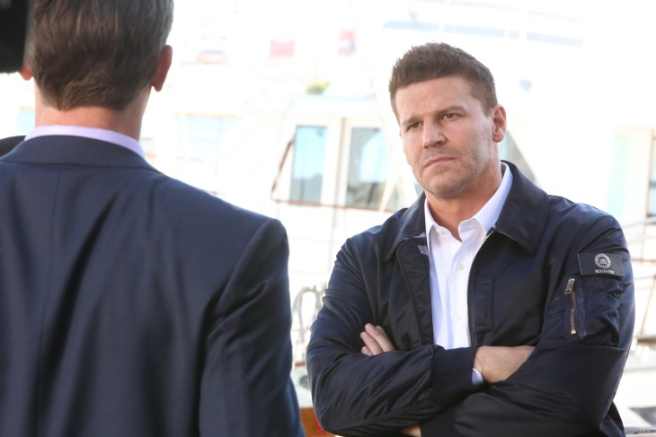 """BONES: David Boreanaz in the """"The Final Chapter: The Grief and the Girl"""" episode of BONES airing Tuesday, Feb. 21 (9:01-10:00 PM ET/PT) on FOX. ©2017 Fox Broadcasting Co. Cr: Patrick McElhenney/FOX"""