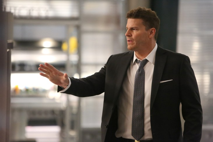 "BONES: David Boreanaz in the ""The Final Chapter: The Day In The Life"" episode of BONES airing Tuesday, March 21 (9:00-10:00 PM ET/PT) on FOX. ©2017 Fox Broadcasting Co. Cr: Ray Mickshaw/FOX"