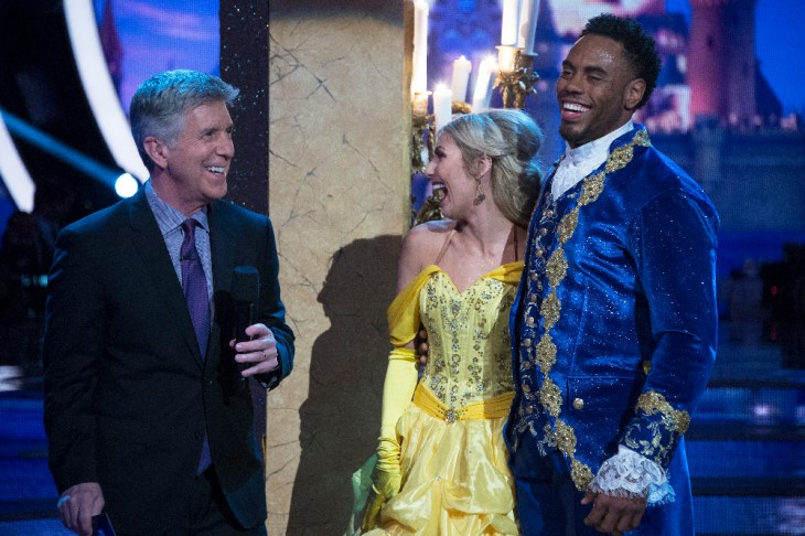"DANCING WITH THE STARS - ""Episode 2405"" - The nine remaining celebrities will transform into some of the most magical Disney characters and celebrate the magnificence of ""Disney Night,"" on ""Dancing with the Stars,"" live, MONDAY, APRIL 17 (8:00-10:01 p.m. EDT), on The ABC Television Network. (ABC/Eric McCandless)"