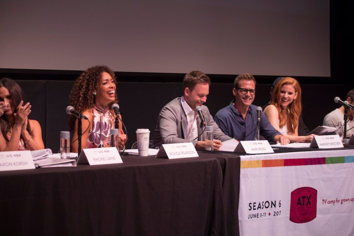Suits Cast at the ATX Television Festival (Credit: Rick Kern/USA Network)