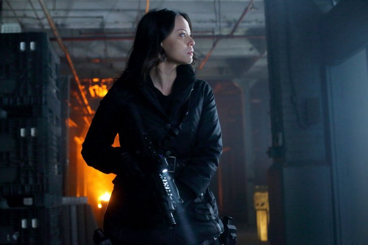 """DARK MATTER -- """"Welcome To The Revolution"""" Episode 303 -- Pictured: Melissa O'Neil as Two -- (Photo by: Stephen Scott/Dark Matter Series 3/Syfy)"""