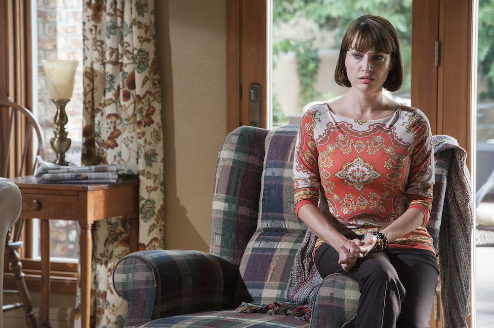 Julie Ann Emery - Better Call Saul _ Season 1, Episode 7 - Photo Credit: Lewis Jacobs/AMC