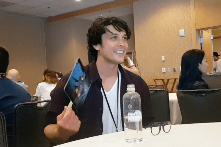Bob Morley Talks The 100 at San Diego Comic-Con